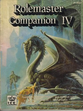 The Cover of Rolemaster Companion IV