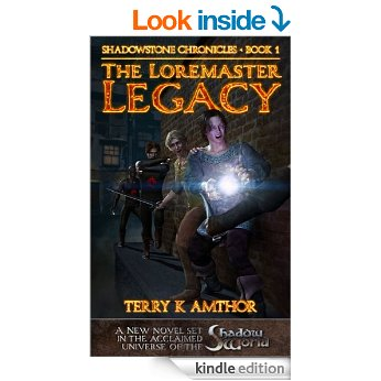Book Review The Loremaster Legacy