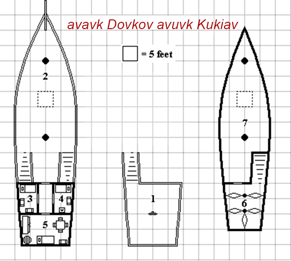 Sloop Deck Plan