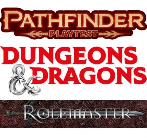 Pathfinder Second Edition, D&D 5E, RMU and Complexity