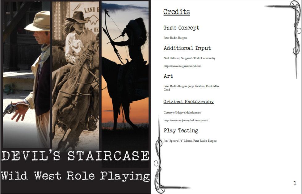 Devil's Staircase: Wild West RPG